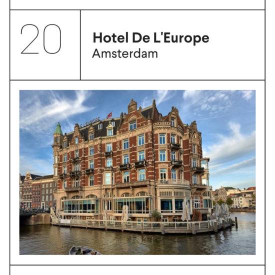 Hotel L'Europe Amsterdam