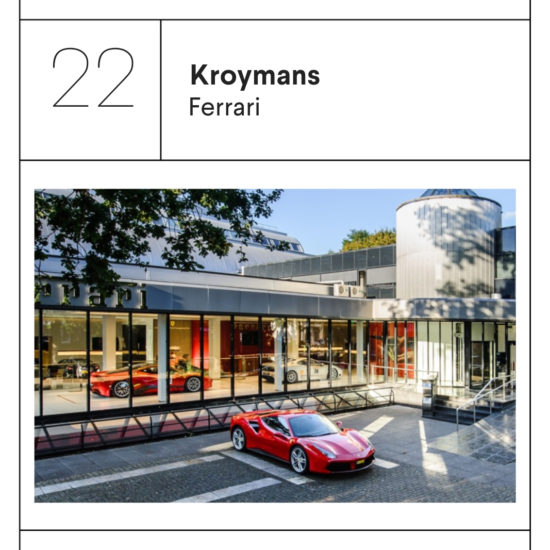 Kroymans Ferrari geur