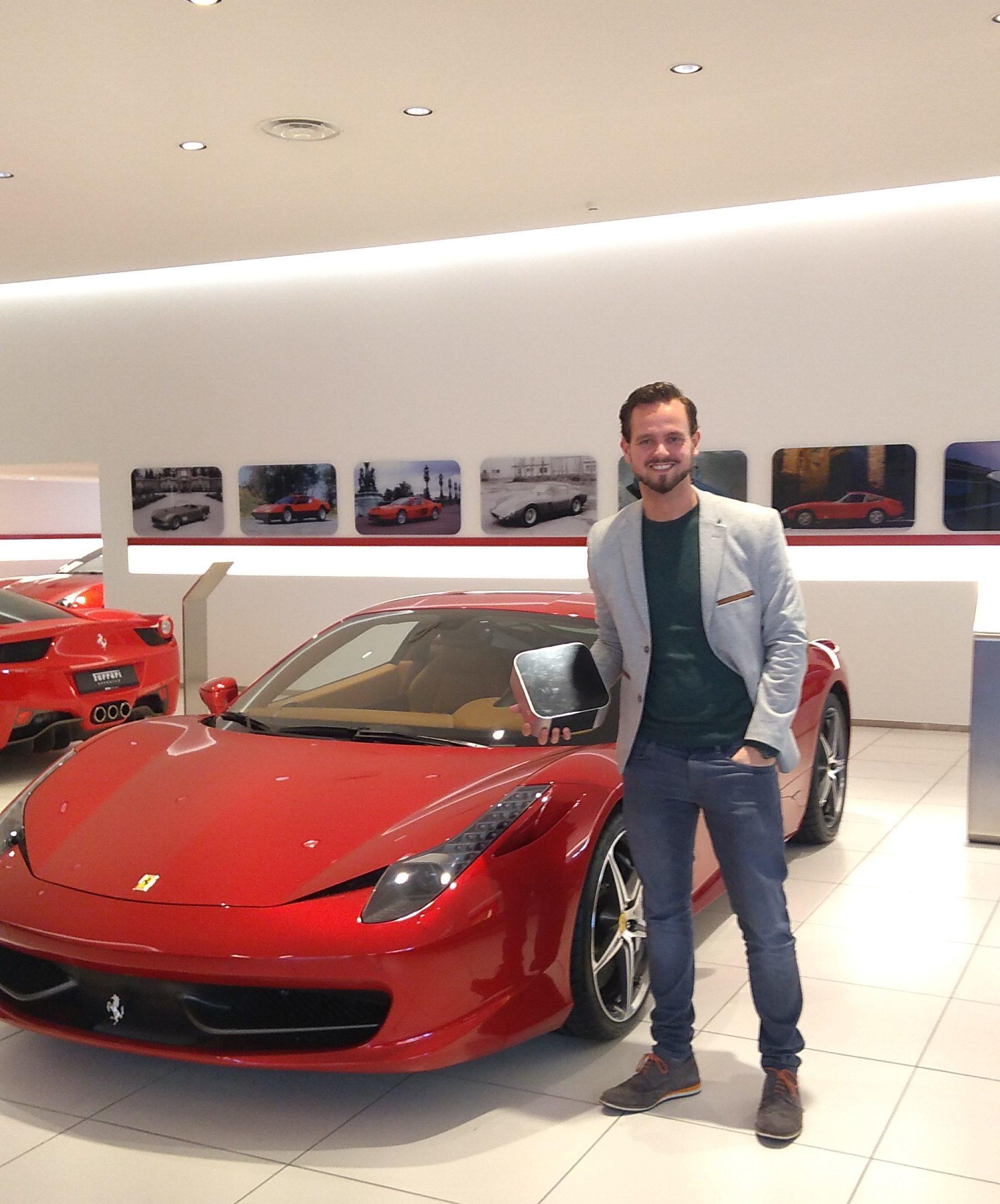 Kroymans Ferrari Hilversum geur